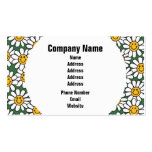 Cute Daisy Flower Pattern Business Cards