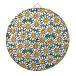 Cute Daisy Flower Pattern Dartboards