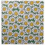 Cute Daisy Flower Pattern Printed Napkin