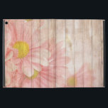 "Cute Daisy Flowers iPad Pro 12.9&quot; Case<br><div class=""desc"">Daisy Flowers on colorful wooden texture iPad Case. This item would make a perfect gift for Her.</div>"