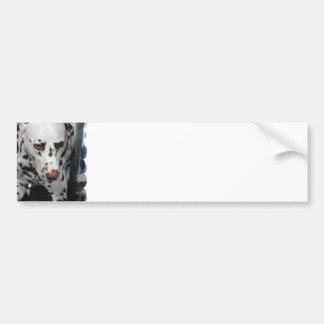 Cute Dalmatian  Bumper Sticker Car Bumper Sticker