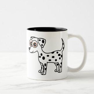 Cute Dalmatian Cartoon Mug