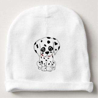 Cute Dalmatian puppy Baby Beanie