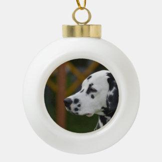 Cute Dalmatian Puppy Ornament