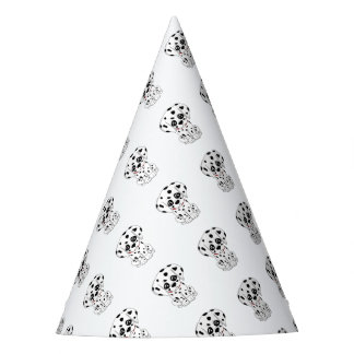 Cute Dalmatian puppy Party Hat