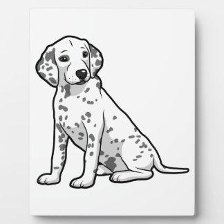 Cute Dalmatian Puppy Plaque