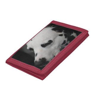 Cute Dalmatian Tri-fold Wallets