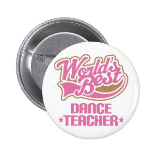 Cute Dance Teacher Button