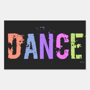 dance words stickers sticker designs zazzle
