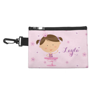 Cute Dancer Ballerina Girl Cosmetic bag
