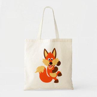 Cute Dancing Cartoon Fox Bag