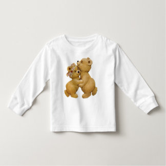 Cute Dancing Teddy Bears Toddler T-shirt