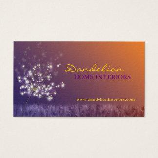 Cute Dandelions Professional Business Cards