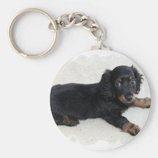 Cute Daschund Keychain