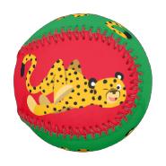 Cute Dashing Cartoon Cheetah Baseball