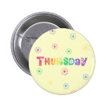 Cute Day Of The Week Thursday Button