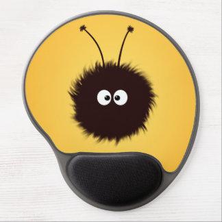 Cute Dazzled Bug Orange Ergonomic Gel Mouse Pad