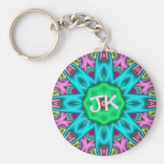 Cute decorative keychain with Monogram