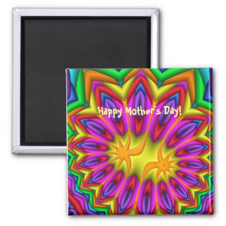 Cute decorative Mother's day magnet