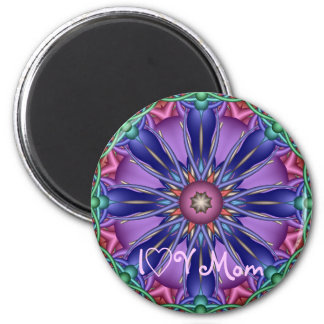 Cute decorative Mother's day Magnet with text