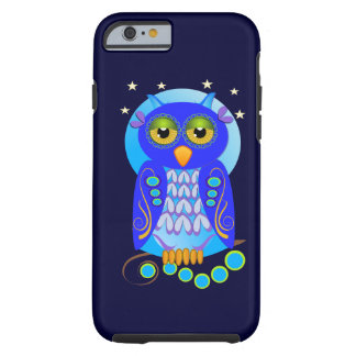 Cute Decorative Owl Tough iPhone 6 Case