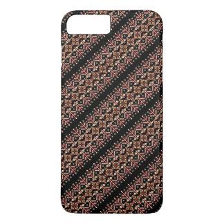 Cute decorative ukrainian stripes patterns iPhone 7 plus case