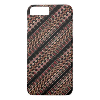 Cute decorative ukrainian stripes patterns iPhone 8 plus/7 plus case
