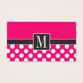 Polka dot business cards zrom elegant pictures of polka dot business card templates free cheaphphosting Choice Image