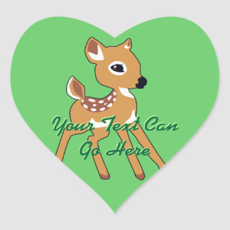Cute Deer Fawn Stickers