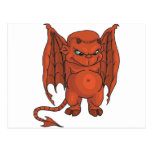 Cute Demon Postcard