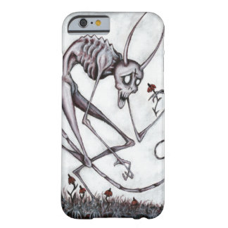 Cute demon with flower acrylic painting phone case