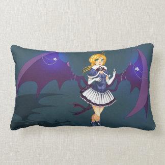 Cute Demonic Anime School Girl Pillow