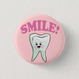 Cute Dental Hygienist Button