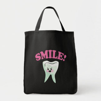 Cute Dental Hygienist Tote Bag