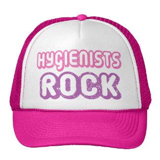 Cute Dental Hygienists Rock Trucker Hats