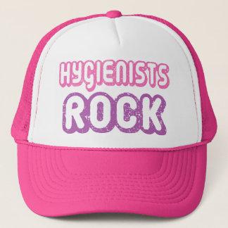 Cute Dental Hygienists Rock Trucker Hat