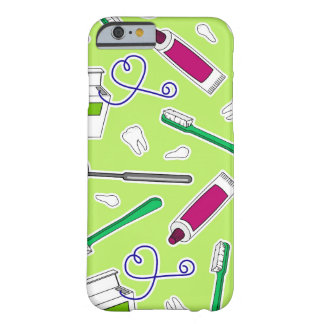 Cute Dentist / Dental Hygienist Love Green Purple Barely There iPhone 6 Case