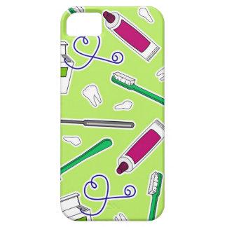 Cute Dentist / Dental Hygienist Love Green Purple iPhone 5 Case