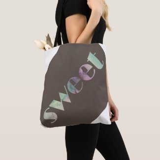 Cute Designer Tote Bag for Mom Sweet Fun