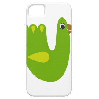 Cute designs with Green bird iPhone SE/5/5s Case