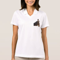 Cute Destiny Farm Animals Donkey Mule Art Polo Shirt