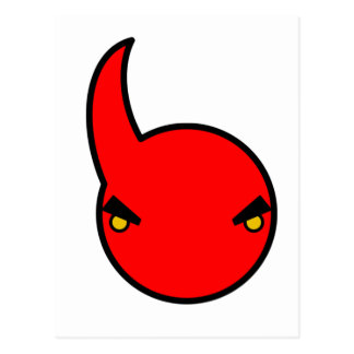 cute devil 1 postcard