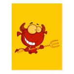 Cute Devil Postcard