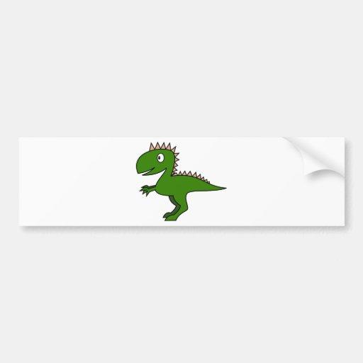 Cute Dino Bumper Stickers