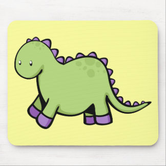 Cute Dino Mouse Pad