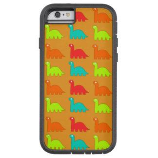 Cute Dino Pattern Walking Dinosaurs Tough Xtreme iPhone 6 Case