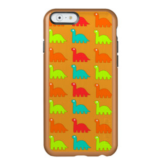 Cute Dino Pattern Walking Dinosaurs Incipio Feather Shine iPhone 6 Case