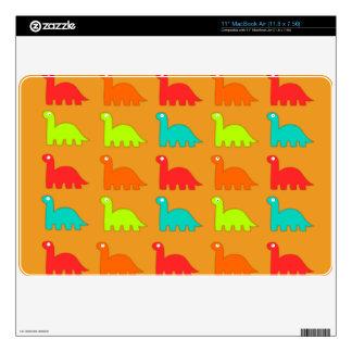 Cute Dino Pattern Walking Dinosaurs Skin For The MacBook