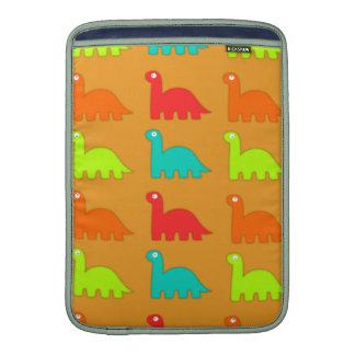 Cute Dino Pattern Walking Dinosaurs Sleeve For MacBook Air