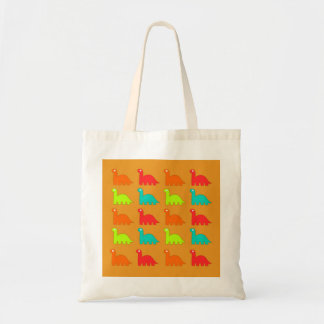 Cute Dino Pattern Walking Dinosaurs Tote Bag